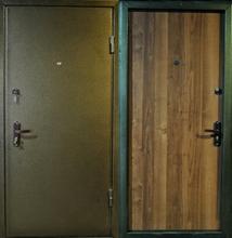 дверь металлическая броня с порошковым напылением
