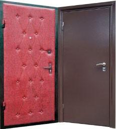 уличные железные двери эконом купить