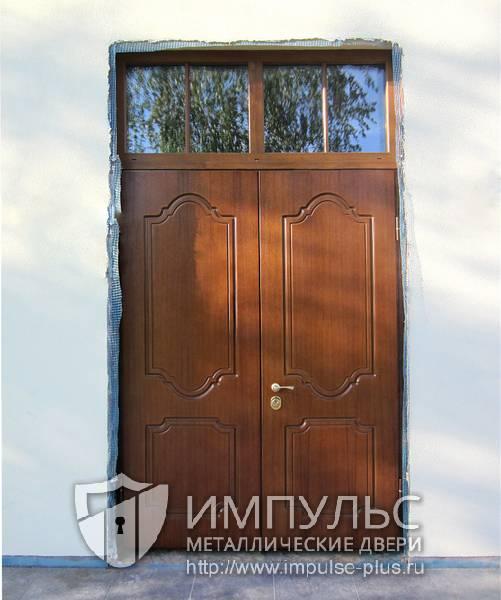 купить уличну металлическую дверь