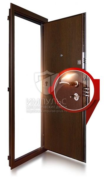 стальные двери с ламинированной поверхностью