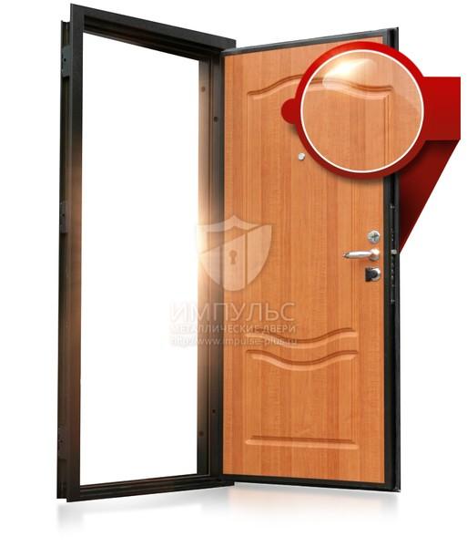 металлические двери с уголков